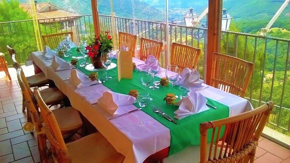 veranda ristorante del borgo